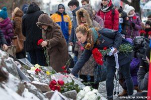 Память жертв периода Холокоста почтили в столице Молдовы