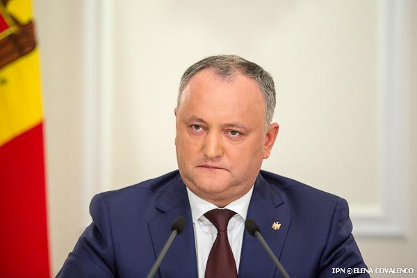 Президент Молдавии Игорь Додон примет участие в совещании ЕврАзЭС