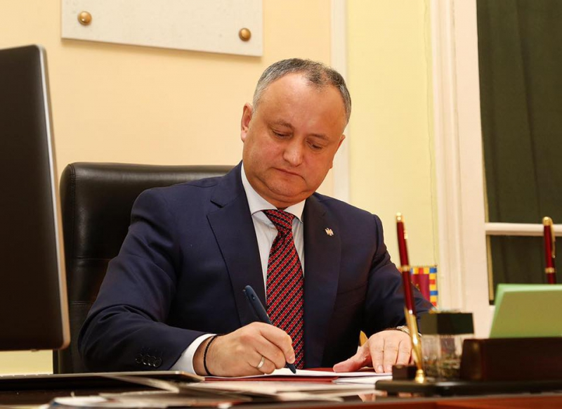Игорь Додон предложил внедрить вМолдове смешанную избирательную систему